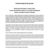 Stratégie nationale e-santé 2020 : il faut désormais passer à la vitesse supérieure selon l'Alliance e-Health France