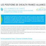 Les Données de santé : la position de eHealth France
